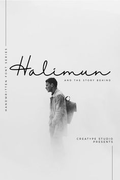 Halimun Script Style Creative Font Halimun Script style - a new modern & fresh script with a handwritten and script style make this font looks elegant, natural, stylish and perfect for any Design Food, Graphisches Design, Buch Design, Layout Design, Design Ideas, Design Projects, Design Typography, Graphic Design Posters, Typography Poster