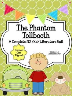 phantom tollbooth writing activities
