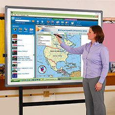 77 Dia. Digital Interactive Whiteboard - B21021 and more Boards