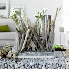 A delicious decoration to add to the feel of the beach indoors...