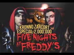 FIVE NIGHTS AT FREDDY'S RAP | 2 MILLONES | ZARCORT Y KRONNO - YouTube