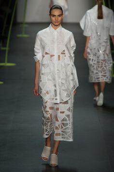 Designer@lsbparisupdates the classic white shirt with...