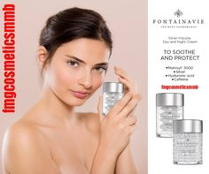 FONTAINAVIE Silver Inpulse Do you have combination/oily skin, with imperfections and prone to irritation? ➡Soothe, protect & stay young. Advanced technology cosmetics. Available at my Business Partner WebShop https://shop-uk.fmworld.com/ #fmgcosmeticsmmb #new #Fontainavie #SilverImpulse