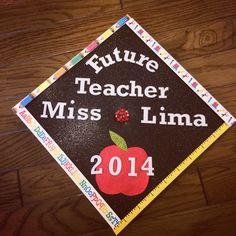 Graduation Cap decoration! Teacher edition! Super easy!