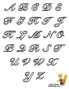 A-Z | In Vb Net Cursive Letters A Z Lowercase And Uppercase Sheet ...