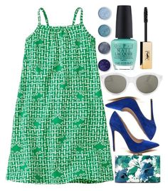 """Kindergarten Green"" by egordon2 ❤ liked on Polyvore featuring RetroSuperFuture, Terre Mère and OPI"