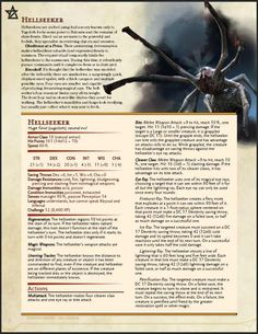 Post with 8632 views. [A-Z] Day Berbelrith (Red Stalker Demon) Dnd Dragons, Dungeons And Dragons 5e, Dungeons And Dragons Homebrew, Weird Creatures, Fantasy Creatures, Mythical Creatures, Monster Characters, Dnd Characters, Dnd Stats