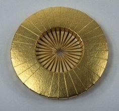 Gold Brooche-Lisa Gralnick
