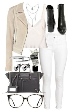 """Untitled #20298"" by florencia95 ❤ liked on Polyvore featuring H&M, Calvin Klein Collection, Balenciaga, Aesop, Very Volatile and Ace"