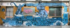 Street ART: ROTI transforms the streets into whimsical museum : RESPECT.