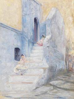 Die 31 besten Bilder von Peinture: Casbah d\'Alger   Africa, Bass und ...