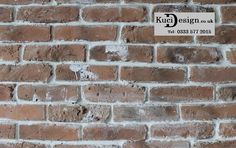 Kuci Design's Rustic Red Brick slips in a square metre profile shot