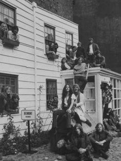 Hippie Commune House