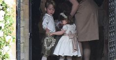 The young royals had a starring role as page boy and bridesmaid