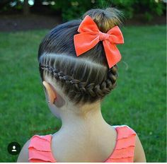 Featuring my baby Ari today, I do her hair everyday, but she doesn't let me take. Lil Girl Hairstyles, Kids Braided Hairstyles, Hairstyles For School, Cool Hairstyles, Curly Hair Styles, Natural Hair Styles, Zeina, Toddler Hair, Love Hair