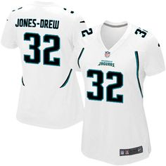 Maurice Jones-Drew Jersey Womens Nike Jacksonville Jaguars http://#32 Game White Jersey | Size S, M,L, 2X, 3X, 4X, 5X. At Official Jacksonville Jaguars Shop, you can find one of the largest selections online of Maurice Jones-Drew Jersey Womens Nike Jacksonville Jaguars http://#32 Game White Jersey | Size S, M,L, 2X, 3X, 4X, 5X licensed by the NFL.