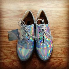 8 Bit Future. #trend #holographic #urbanoutfitters