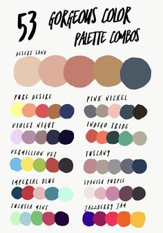 Looking for the perfect color palette combination? This list has 53 GORGEOUS combos to choose from! Perfect for cold porcelain! Color Schemes Colour Palettes, Colour Pallette, Color Trends, Color Combos, Good Colour Combinations, Color Mixing Chart, Wardrobe Color Guide, Decoration Palette, Color Palette Challenge