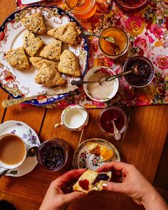 "Make-Ahead Currant Scones from ""Brown Eggs and Jam Jars: Family Recipes from the Kitchen of Simple Bites"" by Aimee Wimbush-Bourque. Photo by Tim Chin. Currant Scones Recipe, Classic Beef Stew, Oat Pancakes, Waffles, Muffins, Bacon Quiche, Savory Scones, Brown Eggs, Dark Chocolate Cakes"