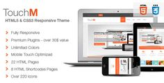 TouchM - Responsive & Drupal Theme by tabvn ? is a premium Drupal Theme which uses the best practices of latest technologies and is compatible with all mobile devices.