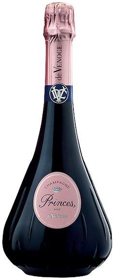 Découvrez ce produit : Champagne de Venoge Princes Rosé | Vin mousseux SAQ - 13239432