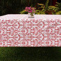Mantel colección LENA - Diseño  Scarlet