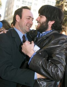 Kevin Spacey and Wes Bentley