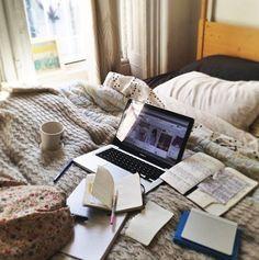 to study