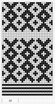 Knitted Mittens of Nica, Kurzeme province, Latvia - Поиск в Google
