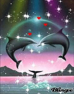 Living Water Pretty Wallpapers Say Hello Kinder Art Gifs Dolphin Art Love Hug Good Night Sweet Dreams Heart Wallpaper Beautiful Love Pictures, Beautiful Gif, Beautiful Roses, Beautiful Fantasy Art, Dolphin Images, Dolphin Photos, Dolphin Painting, Dolphin Art, Love Heart Images
