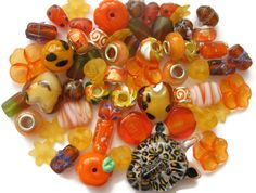 New at our #Ebay store! Mixed #Beads 60 Pcs Orange Murano Style Glass #Cat #Pendant Acrylic #Flowers #Hearts #buynow http://www.ebay.ca/itm/Mixed-Beads-60-Pcs-Orange-Murano-Style-Glass-Cat-Pendant-Acrylic-Flowers-Hearts-/292116415133