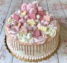 Cake Cookies, Food And Drink, Birthday Cake, Easter, Cakes, Diy, Cake Makers, Bricolage, Birthday Cakes