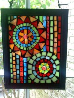 Mini Mosaic Window
