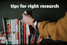 tips για τη σωστή έρευνα του βιβλίου σου!