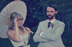 cute wedding photo idea?