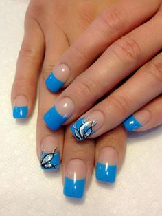 French tips are easy. It's the design that's hard(: