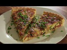 Quiche Lorraine-Speckkuchen-So mache ich meine Quiche Lorraine-Salziger Kuchen-Mürbeteig - YouTube
