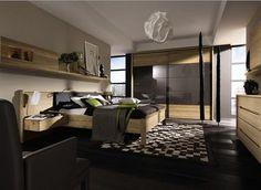 Dormitorios cálidos y confortables en madera, de Hülsta