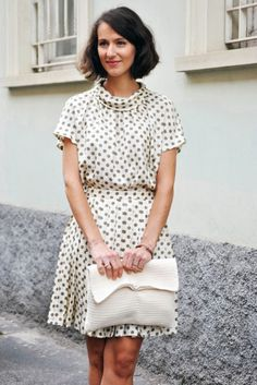 A CUP OF JO: Fall Trend #1: Polka dots   photo by Stockholm Street Style