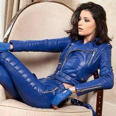 Blue Biker Girl ;)