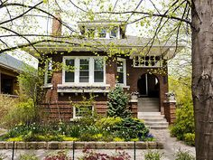 West Rogers Park has a healthy concentration of bungalows, and this is probably the finest of those on the market. 2,800 square feet it's on the larger side, but the allure is in the execution of details from the elegant front porch to the living room with hardwoods, purple trim, and a grand fireplace. The finished attic and basement have bedrooms and baths, and a large deck joins the perennial garden at back. Listed in May, the ask is thus far holding at $479K.