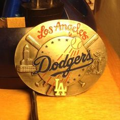 Special Limited Edition Los Angeles Dodgers Buckle