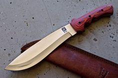 CFK iPak Custom Handmade D2 Survival God of War Bolo Machete Camp Spec Ops Knife in Collectibles, Knives, Swords & Blades, Fixed Blade Knives | eBay