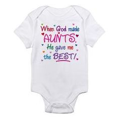 GOD GAVE ME THE BEST AUNT!