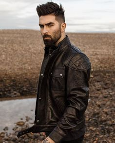 Love these shots for @Belstaff. It was amazing to travel to Spey Bay in the Scottish Highlands to shoot their #SecondSkin campaign.  As you all know by now, I've been travelling Scotland a lot recently. I'll be taking this jacket everywhere, that's for sure. Haha. #Belstaff