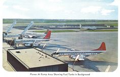 1962 - Chicago O'Hare postcards - Chicago O'Hare Airport History and Memorabilia