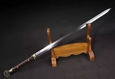 "Longquan sword/Han jian/Pei Dong sword/Pattern steel blade/Ormosia henryiscabbard/Length 41"" longquan sword http://www.amazon.com/dp/B0135OEQ84/ref=cm_sw_r_pi_dp_5BoVvb0VRGBAH"