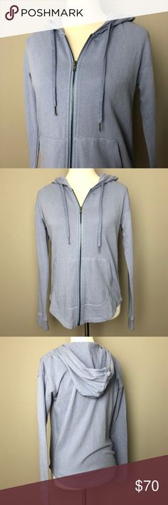 SPLENDID purple zip up cotton hoodie sweatshirt Gorgeous, soft, perfect casual wear. 100% cotton, perfect condition brand new with tags attached. A periwinkle purple that is perfect for upcoming spring!!  Fits an XS to S well. Splendid Tops Sweatshirts & Hoodies