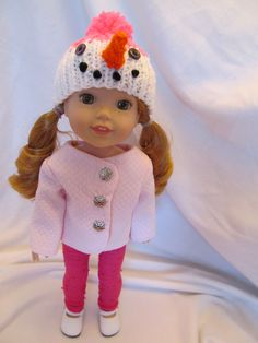 Soft Pink Jacket fits Your 14'' Doll or Your 14 !/2'' Doll, Great Winter Jacket , Everyday Wear, Fall and Winter Jacket , Cute Fun Jacket by SewManyThingsbyNancy on Etsy