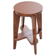 Pierre Jeanneret Stool from Chandigarh Administration Building at 1stdibs